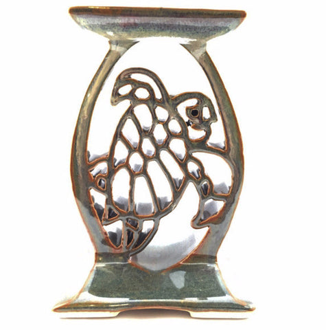 Candle Stand - Turtle - Jade