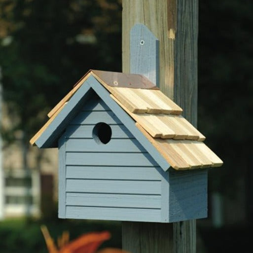 Bird House - Cape Cod Wren - Blue Pickle