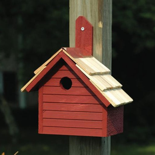 Bird House - Cape Cod Wren - Redwood