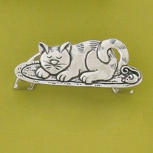 Business Card Holder - Cat