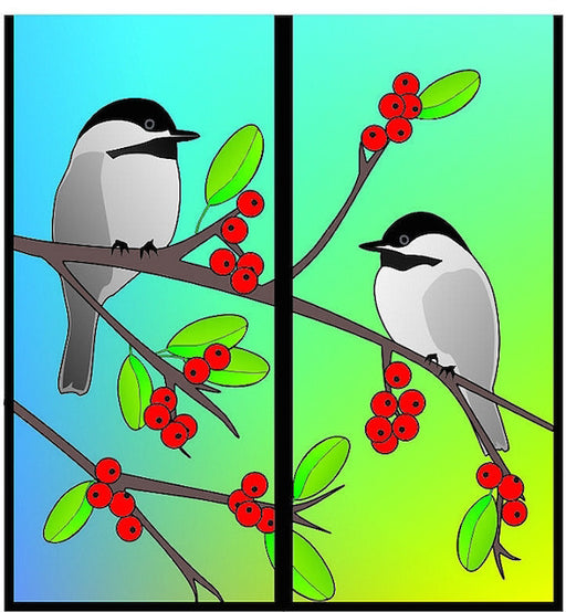 Magnetic Bookmark - Chickadee - MBK272