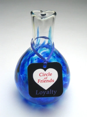 Circle of Friends Vase - Cobalt - Loyalty