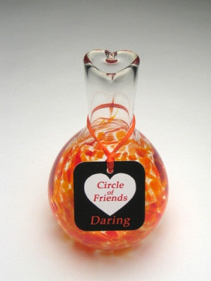Circle of Friends Vase - Orange - Daring
