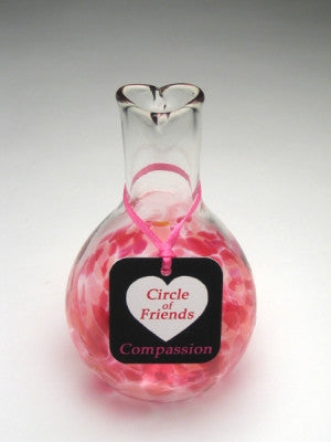 Circle of Friends Vase - Pink - Compassion