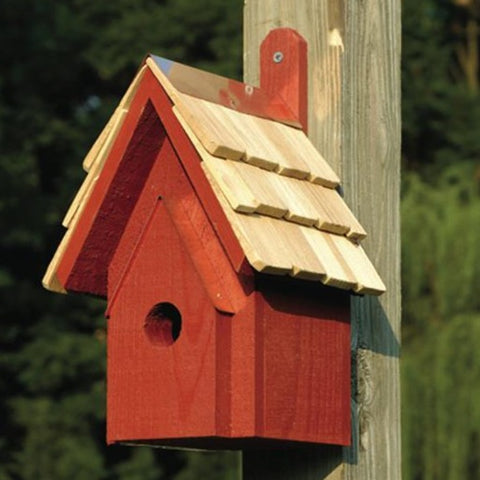 Bird House - Classic - Red