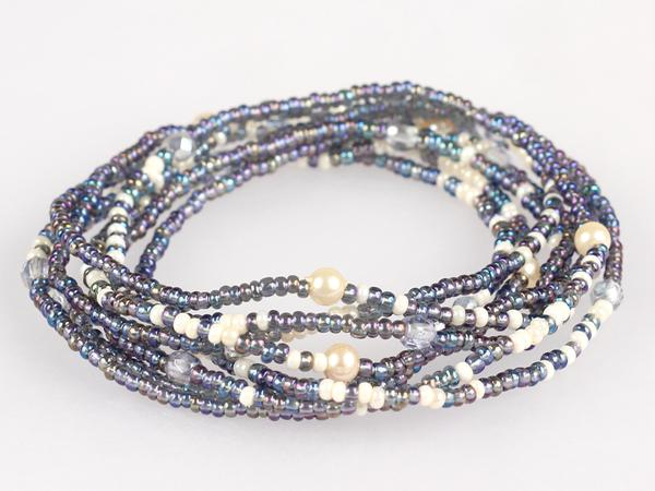 Convertible Necklace - Icy Sea - NN222