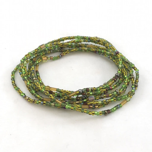 Convertible Necklace - Green/Yellow - NN413