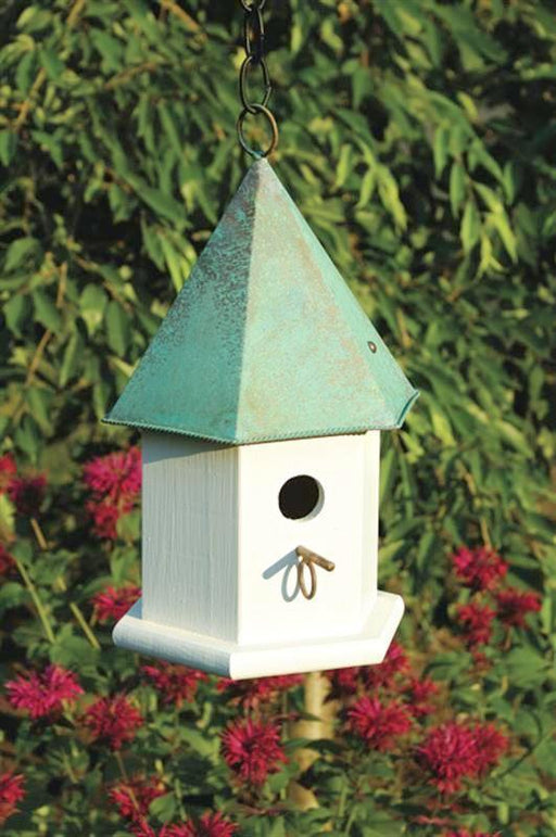 Bird House - Copper Songbird