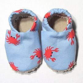 Baby Shoes - 0-6 months - Crab