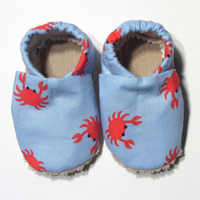 Baby Shoes - 6-12 months - Crabs