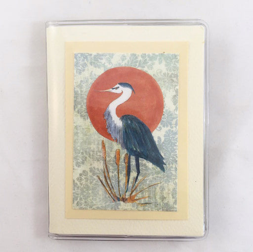 Credit Card Case - Blue Heron - 747