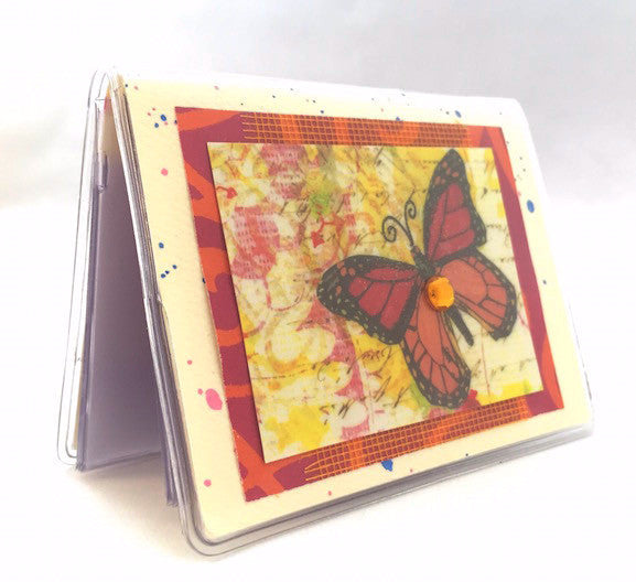 Credit Card Case - Monarch Butterfly - 636