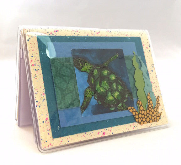 Credit Card Case - Sea Turtles - 642
