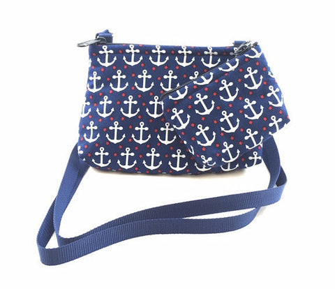 Cross Body Bag/Change Purse - Anchors