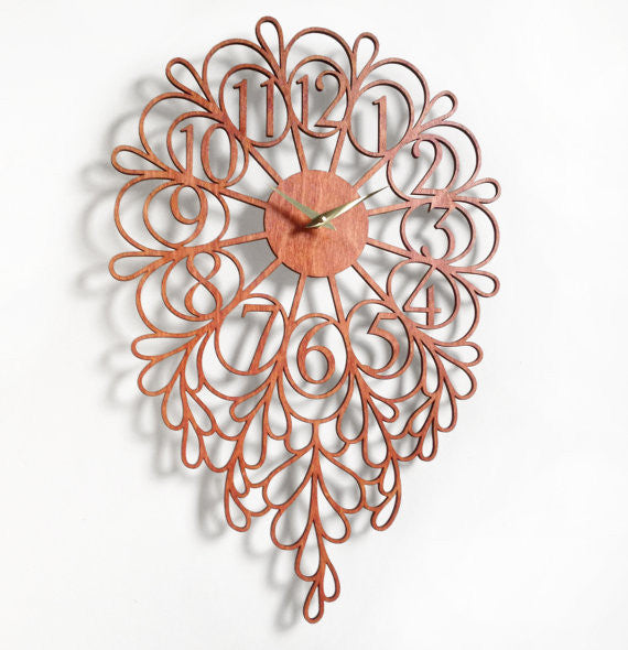 Darling Wall Clock - Large - Carmel