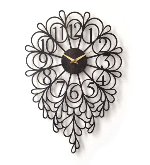 Darling Wall Clock - Large - Onyx