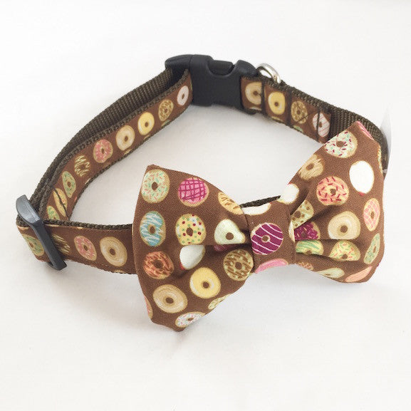 Dog Collar - Donuts - Medium