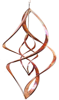 "Copper Spinner - Double Infinity - 24"" - HH"