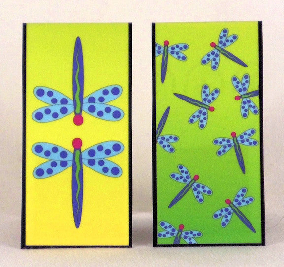 Magnetic Bookmark - Dragonflies - MBK21
