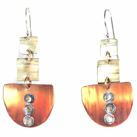Earrings - A Touch of Silver - E3549