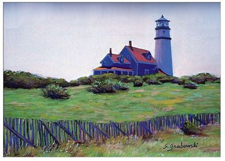 Gift Enclosure Card - Early Morning Lighthouse - 99