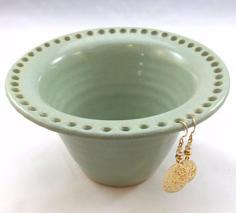 Earring Bowl - Green