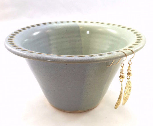 Earring Bowl - Green Combo