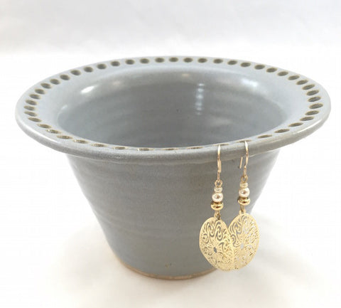 Earring Bowl - Powder Blue
