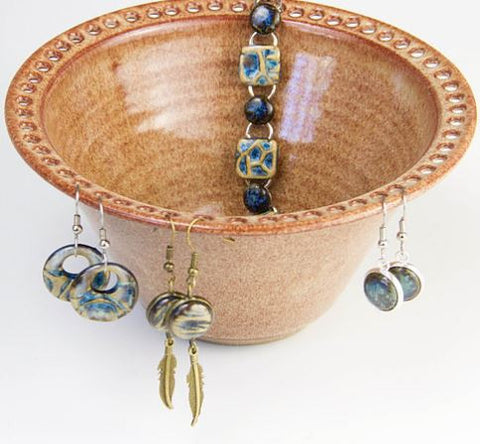 Earring Bowl - Wheat