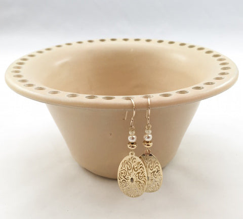 Earring Bowl - Yellow