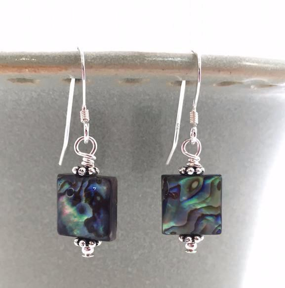 Earrings - Modern Abalone - E249