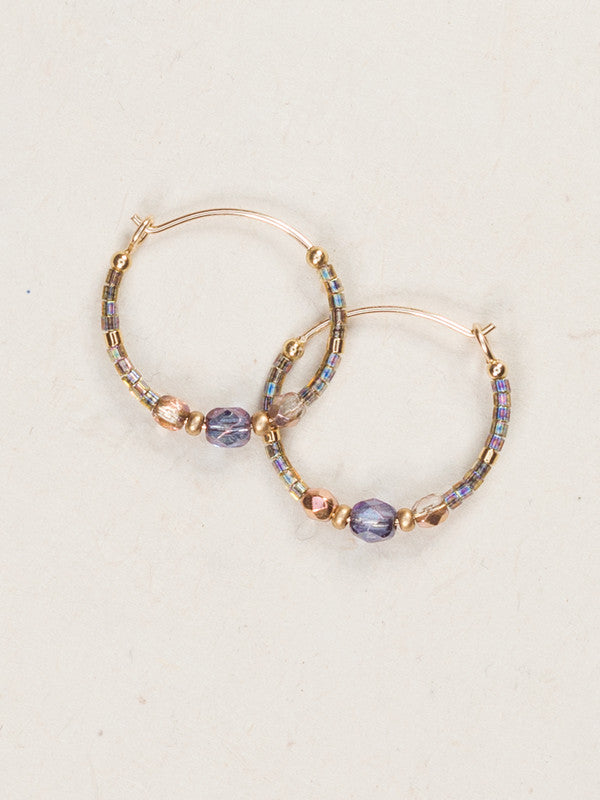 Earrings - Sonoma Petite Hoops - Splash of Spring - 95275