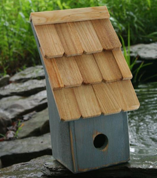 Bird House - Fruit Coop - Blue