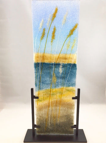 Glass Frit Painting - Bay Waters - 113S