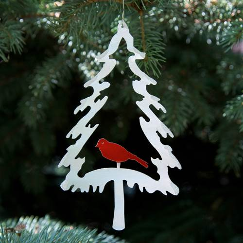 Ornament - Evergreen Bird
