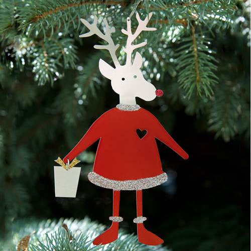 Ornament - Reindeer with Present