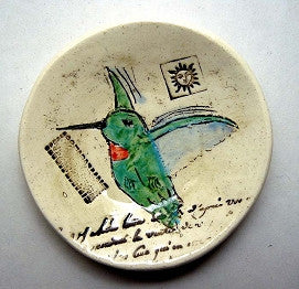 Little Pottery Bowl - Hummingbird