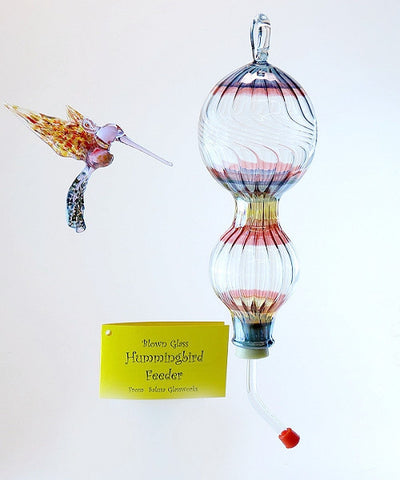 Hummingbird Feeder - Striped