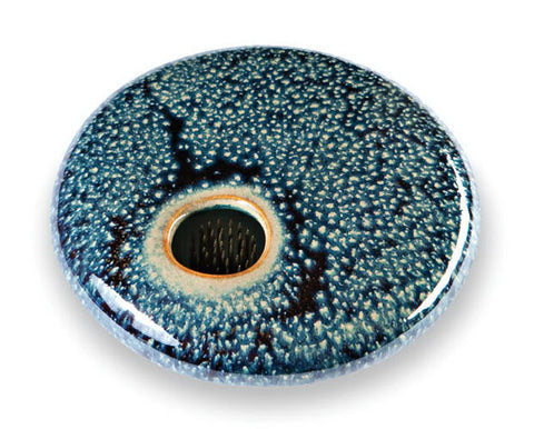 Small Round Ikebana Vase - Starry Night