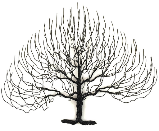 LG Regular Wire Tree - Black