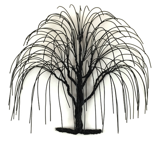 LG Willow Wire Tree - Black