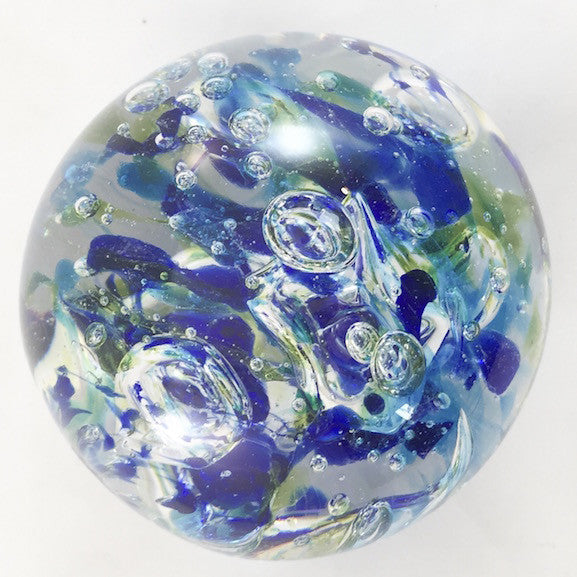 Levitating Marble - Blue - Blue/Green