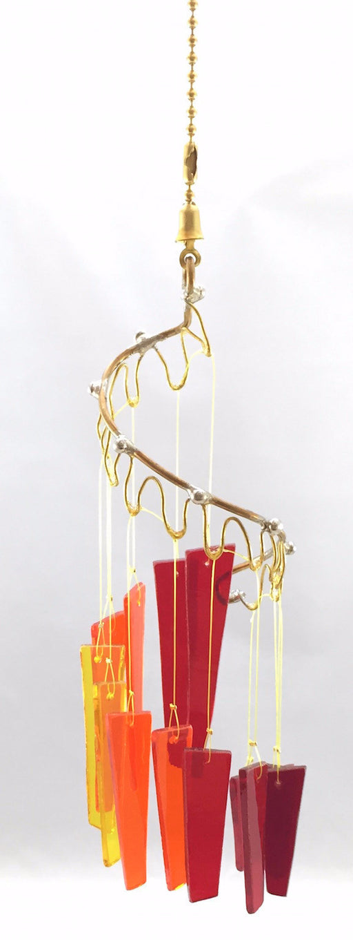 Light Opera Wind Chime - Small - Fire