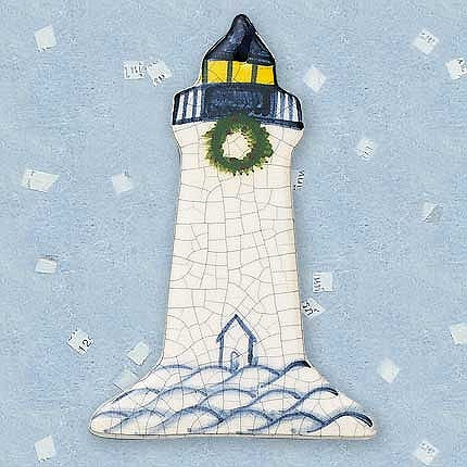 Ornament - Lighthouse with Shed