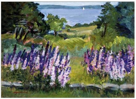 Gift Enclosure Card - Lupine Time - 106