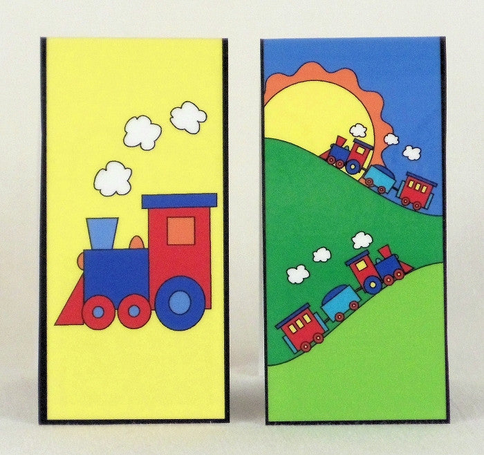Magnetic Bookmark - Trains - MBK34