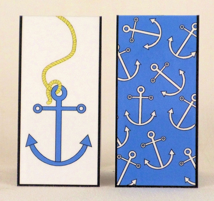 Magnetic Bookmark - Anchors Away - MBK97