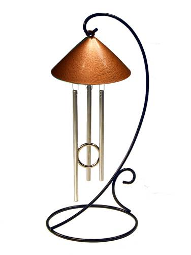 Solar Chime - Table Top Metallic Sprite - C - Copper