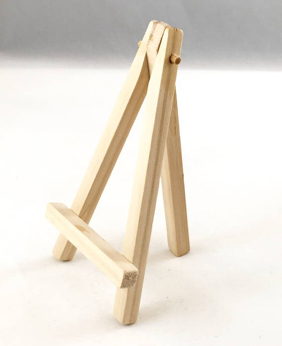 Miniature Easels - Wood