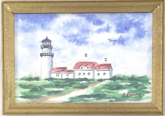 Original - Miniature - 2x3 - Watercolor - Highland Light - 1